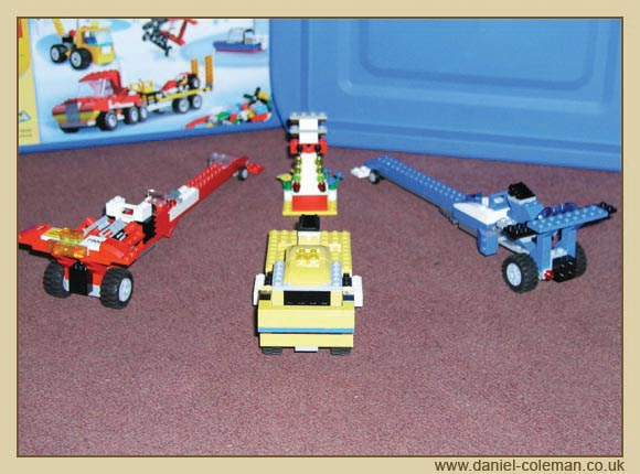 Lego Dragsters - August 2007