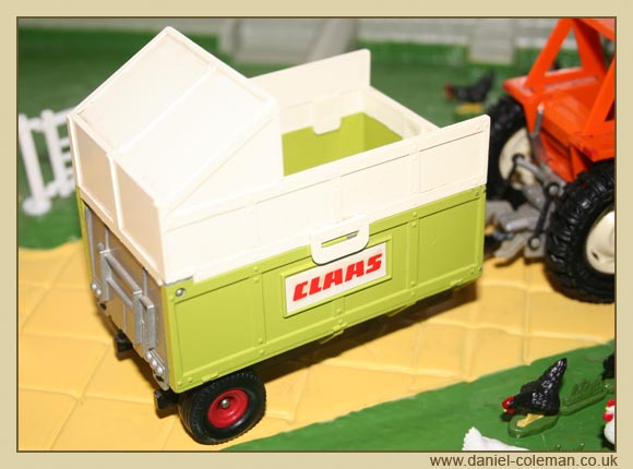 Claas Silage Trailer (Britains)