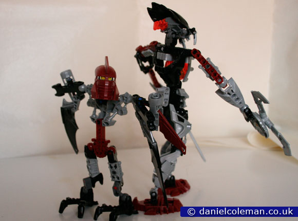 My Own Creation Bionicle - Mistika & Phantoka