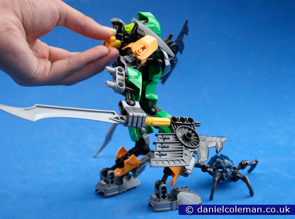 Bionicle - Lewa; Master of Jungle